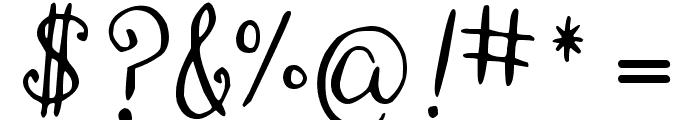 DJB Monogram Font OTHER CHARS