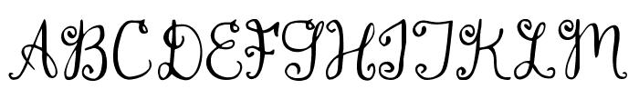 DJB Monogram Font LOWERCASE