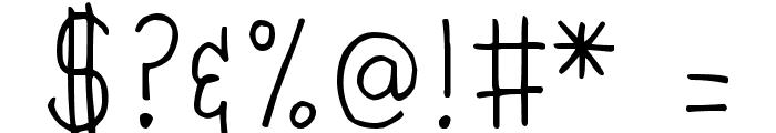 DJB MrsWebster Font OTHER CHARS