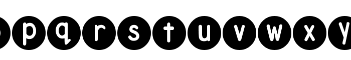DJB On the Spot Font LOWERCASE