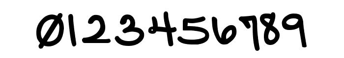 DJB Pinky Swear Font OTHER CHARS