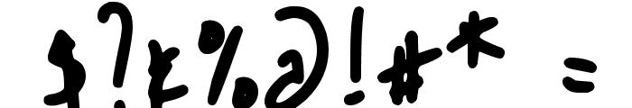 DJB SLOPPYJO Font OTHER CHARS