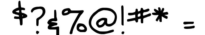 DJB SNARKY BESS Straight Font OTHER CHARS