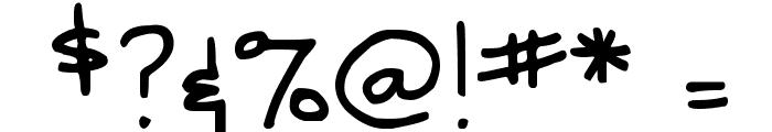 DJB SNARKY BESS Font OTHER CHARS