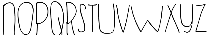 DJB SUGAR SHOCK Font LOWERCASE