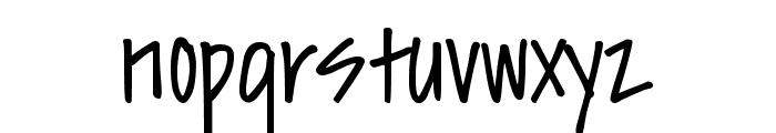DJB Sissy Font LOWERCASE