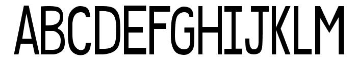 DJB Speak Softly Bold Font UPPERCASE