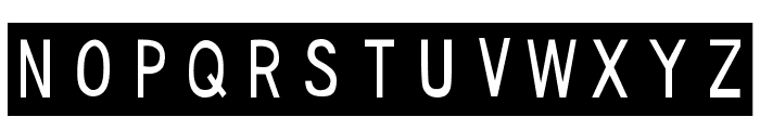 DJB Sticky Tape Labels Strips Font LOWERCASE