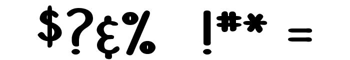 DJB Stinky Marker Font OTHER CHARS