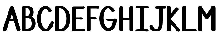 DJB Stinky Marker Font UPPERCASE