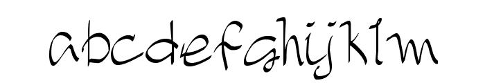 DJB TREASURE HUNT Font LOWERCASE