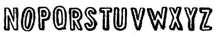 DJB Vintage Find Font UPPERCASE