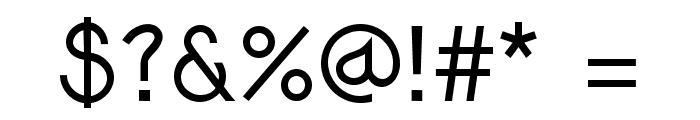 Djiring Regular Font OTHER CHARS