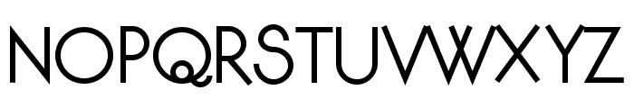 Djiring Regular Font UPPERCASE