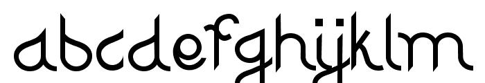 Djiring Regular Font LOWERCASE