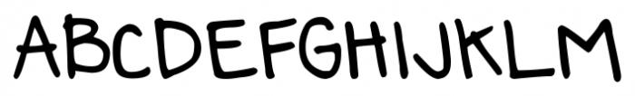 DJB Annalise the Bold Font UPPERCASE