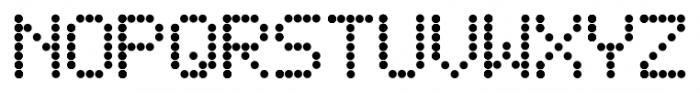 DJB Friday Night Lights Regular Font UPPERCASE