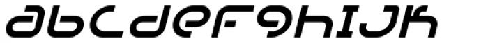 DJ Parade Cond Book Oblique Font LOWERCASE