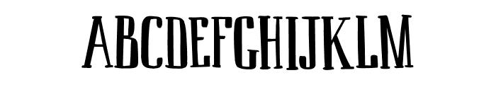 DK Ambrosine Regular Font UPPERCASE