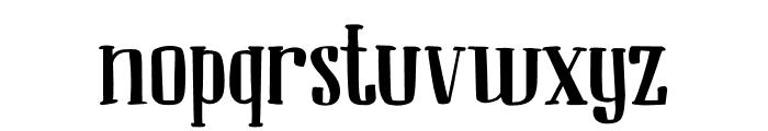 DK Ambrosine Regular Font LOWERCASE