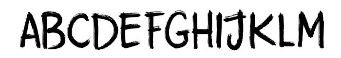 DK Attaboy Regular Font UPPERCASE