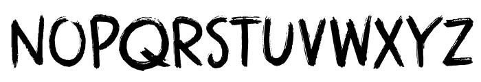 DK Attaboy Regular Font LOWERCASE