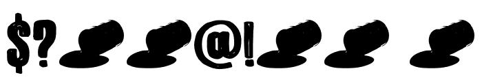 DK Bitumen Regular Font OTHER CHARS