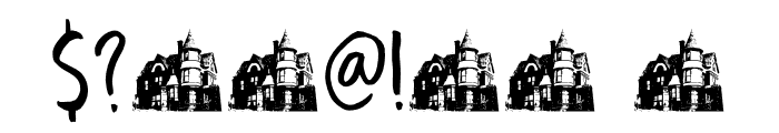DK Boarding House I Regular Font OTHER CHARS