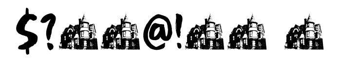 DK Boarding House III Regular Font OTHER CHARS