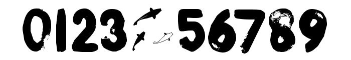 DK Boris Brush Font OTHER CHARS