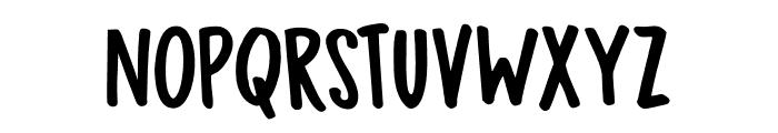 DK Bupkis Regular Font UPPERCASE