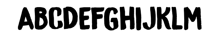 DK Bygone Regular Font UPPERCASE