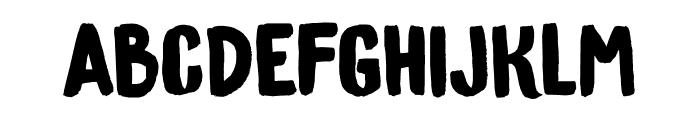 DK Bygone Regular Font LOWERCASE