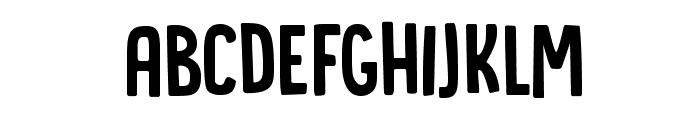 DK Canoodle Regular Font LOWERCASE