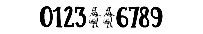 DK Colporteur Fat Regular Font OTHER CHARS