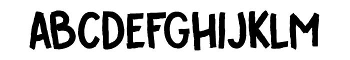 DK Cover Up Regular Font UPPERCASE