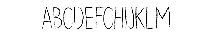 DK Dubbel Zout Regular Font LOWERCASE