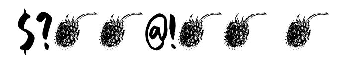 DK Framboisier Regular Font OTHER CHARS