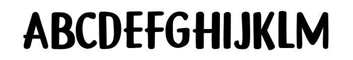 DK Gamboge Regular Font UPPERCASE