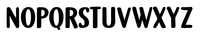 DK Gamboge Regular Font LOWERCASE