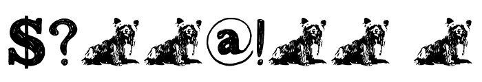 DK Greyfriars Regular Font OTHER CHARS