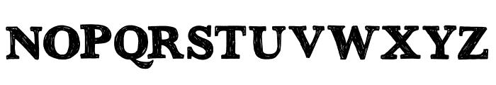 DK Greyfriars Regular Font UPPERCASE