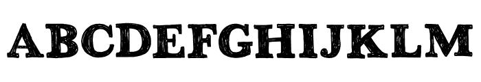 DK Greyfriars Regular Font LOWERCASE