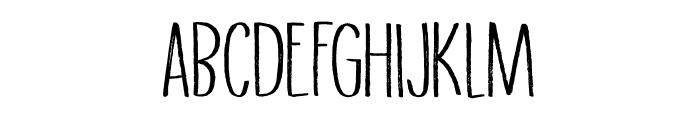DK Grigory Regular Font UPPERCASE