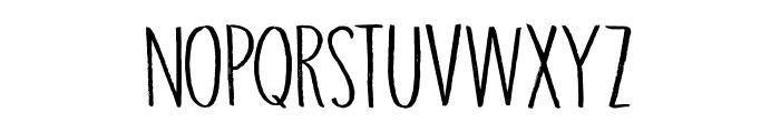 DK Grigory Regular Font LOWERCASE