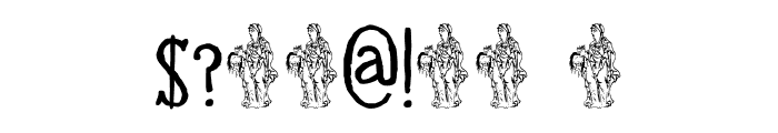 DK Halewyn SemiBold Font OTHER CHARS