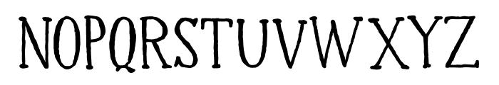 DK Halewyn SemiBold Font UPPERCASE