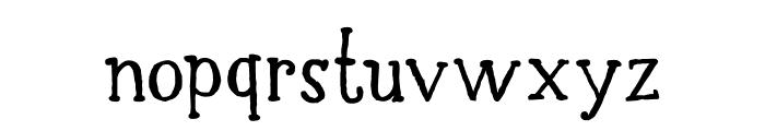 DK Halewyn SemiBold Font LOWERCASE