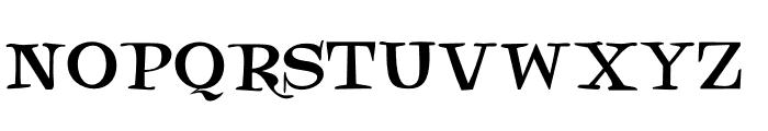 DK Henceforth Font LOWERCASE