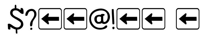 DK Homeward Bound II Regular Font OTHER CHARS